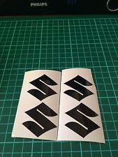 Set 4  ALLOY WHEEL Suzuki Sticker