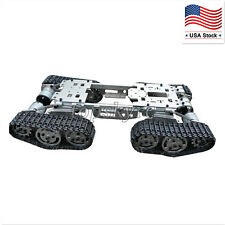 RC Tank Car Truck Robot Smart Intelligent Caterpillar Chassis Car Toy US STOCK