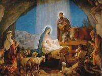 "*Postcard-""Beautiful Nativity Scene"" ... (N16)"