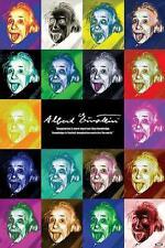 Albert Einstein : Pop Art - Maxi Poster 61cm x 91.5cm (new & sealed)