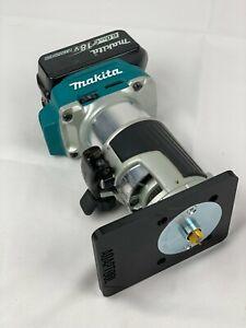 Router Sub BASE PLATE guide bush adaptor for Makita 18V DRT50 RT0700 KATSU