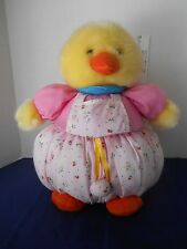 Easter Basket Soft Sculpture Springtime Chick Duck Beverly Hills Teddy Bear Co.