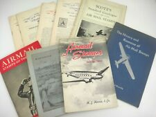 Airmail Stamps Collector Book Lot Catalogs History Newletters Vintage 1920s-40s