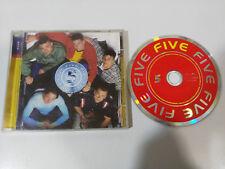 FIVE 5 CD RCA BMG 1998 BOYS BAND EU EDITION