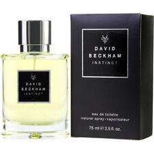 INSTINCT 75ml EDT SPRAY FOR MEN BY DAVID BECKHAM ----------------- NEW PERFUME ~