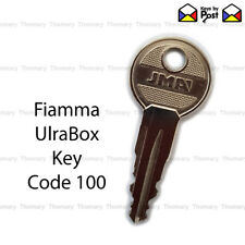 FIAMMA ULTRA BOX Spare or Replacement Key  Code 100  ***Fast Shipping***
