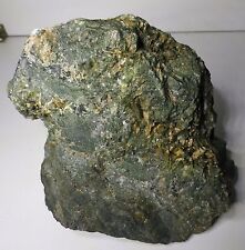 Chalcopyrite and Diopside crystal. Mount Elliot mine, Cloncurry, Qld.       S213