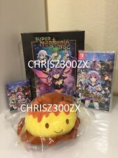 Super Neptunia RPG Limited Edition Nintendo Switch Collector's 2019 USA