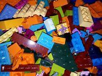 500 Gramm 0,5 Kg Lego Steine Mix Seltene Farben Bunte Mischung Konvolut Friends