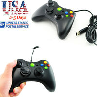 Wired USB Gamepad Controller Joystick Joypad games Fit PC Microsoft Xbox 360