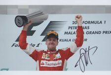 SEBASTIAN VETTEL Ferarri Foto 20x30 orignial signiert IN PERSON Autogramm signed