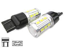 Lampada Led T20 12V W21/5W 7443 Con Lente di Ingrandimento Luci Diurne Canbus