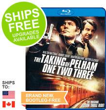 Taking of Pelham One Two Three (Blu-ray) NEW, Walter Matthau, Original, 123