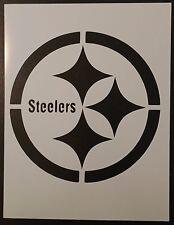 "Pittsburgh Steelers Football 8.5"" x 11"" Custom Stencil FAST FREE SHIPPING"