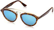 Sunglasses Ray-Ban Rb4257 6092/55 50 Matte Havana Mirror Blue