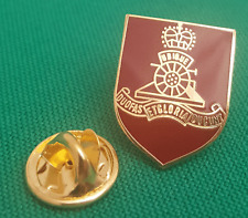 Royal Artillery Shield Lapel Pin badge in Pouch Gift Idea M010