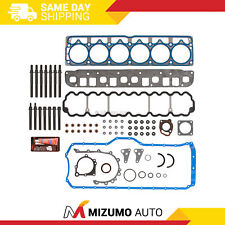 Full Gasket Set Head Bolts Fit 04-06 Jeep Wrangler Grand Cherokee 4.0L Ohv