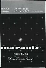Service Manual-Anleitung für Marantz SD-55