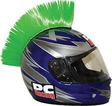 PC Racing Helmet Mohawk Street Bike Dirt Bike Green