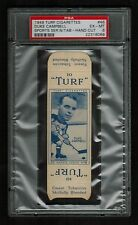 PSA 6 DUKE CAMPBELL Hockey Card Turf #46 COMPLETE WITH TABS None Graded Higher
