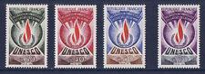 timbre France service  unesco  num: 39/42 **