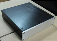 Power amplifier Enclosure/DAC/preamp case/PSU Box+screw+Power socket