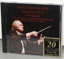 WATER LILY CD WLA-WS-77: Shostakovich - Sym. No. 7 Leningrad - Dmitriev, 2005 SS