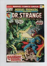 Marvel Premiere Dr Strange #12 - Gargoyle Battle - (Grade 7.5) 1973