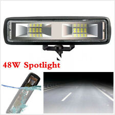 12V 1600LM 48W 16LED Work Light Spot Beam Driving Fog Lamp Bar Car SUV Off-road