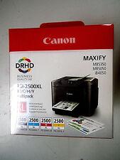 CANON PGI-2500XL c m y bk Tintenpatronen Maxify MB5050 MB5350, IB4050 Original