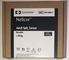 Covidien Nellcor DS100A-1 Adult SpO2 Sensor-Original w Packing Same Day Shipping