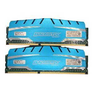 BALLISTIX SPORT DDR3 1600MHZ 1.5V 2X4GB 8GB RAM KIT (#PCRAM#4)