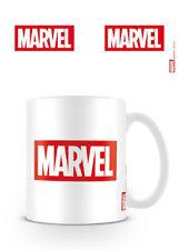 Official MARVEL COMICS Logo White 11oz. Boxed Ceramic Mug NEW & IN STOCK