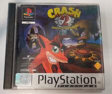 Crash Bandicoot 2 Cortex Strikes Back Platinum - PS1 Playstation 1