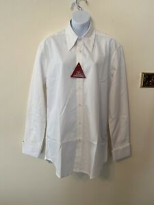 """The Seamstress Of Bloomsbury Mens Spearpoint Collar Shirt 16"""" Collar BNWT RRP£45"""