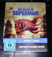 The Morte Di Superman Limitata steelbook blu ray Veloce Spedizione Nuovo & Ovp
