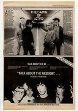 R.E.M. Talk About The Passion Dingwalls Marquee concert Advert NME Cutting 1983