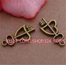 "P372 30pc Tibetan Silver Peace Symbol /""☮/"" Beads Pendant accessories wholesale"