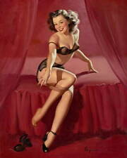Gil Elvgren Pin Up Girls Poster Reproduction Paintings Giclee Canvas Print