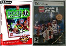 lego star wars 2 the original trilogy & lego rock raiders    new&sealed