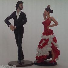 Flamencos (Bailaor y Bailaora) - Figura en plomo - 9 cms de altura.