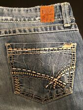 """Women's BKE Buckle Western Blue Jeans(Kate Stretch) Bootcut Midrise Fit 31X28"""""""