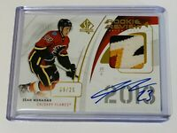 2019-20 SPA ROOKIE REVIEW AUTO PATCH /25 SEAN MONAHAN FLAMES