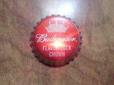 Budweiser Beer Flavor Lock Crown Light-Up Blinking Twist Off Bottle Cap Bud Pin