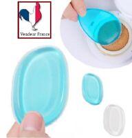 1 x Cosmétique Éponge Silicone Blender Blending Fond De Teint Maquillage Puff