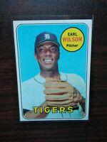 1969 Topps #525 Earl Wilson  Tigers Ex-NearMint SET BREAK