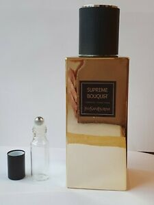 YSL Supreme Bouquet  1.2ml 3ml, 5ml roll on top, dab on,spray. New.  Authentic.