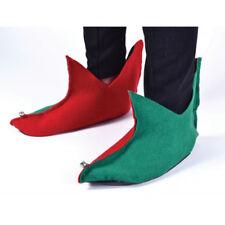Adulte Elf Bottes Pixie Chaussures Noël accessoires costume robe fantaisie Gnome Noël
