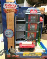 Thomas & Friends Wooden Railway Fisher Price - SODOR PAINT FACTORY - #Y4498 NIB