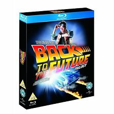 Back to the Future Trilogy 3 Disc Box Set Blu-ray Michael Brand New Sealed